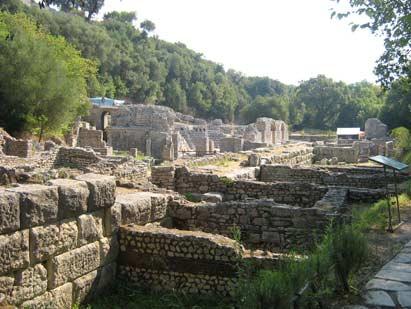8 Tage Rundreise Albanien- Butrinti ausgrabungstätte