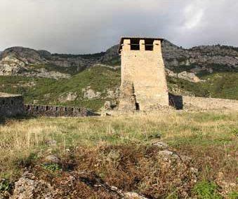 Uhren Turm Burg, Kruja